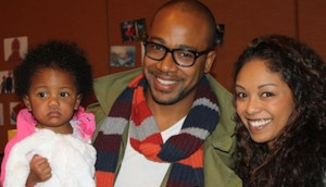 Columbus Short and family